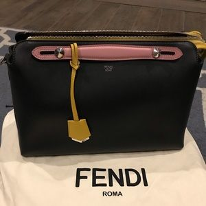 Color block Fendi Large By the Way bag